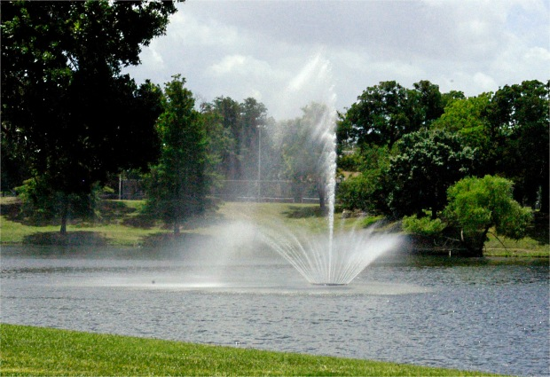 Lake Cliff Fountain
